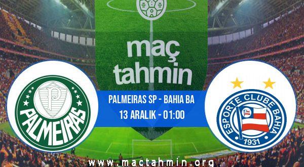 Palmeiras SP - Bahia BA İddaa Analizi ve Tahmini 13 Aralık 2020