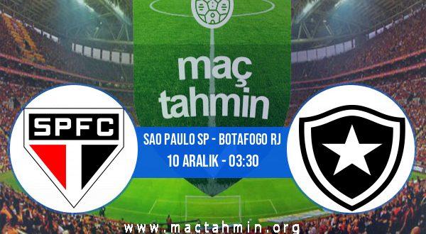 Sao Paulo SP - Botafogo RJ İddaa Analizi ve Tahmini 10 Aralık 2020