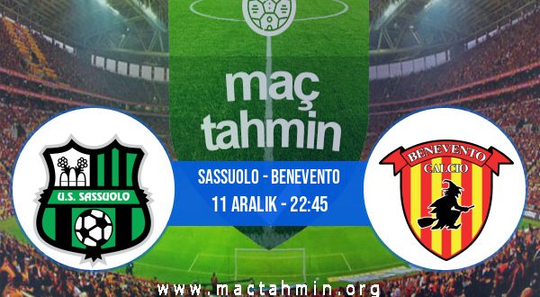 Sassuolo - Benevento İddaa Analizi ve Tahmini 11 Aralık 2020