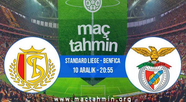 Standard Liege - Benfica İddaa Analizi ve Tahmini 10 Aralık 2020
