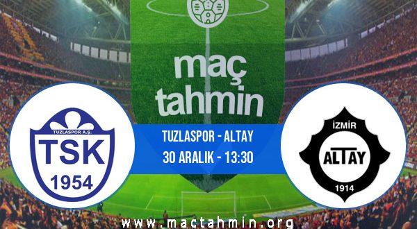 Tuzlaspor - Altay İddaa Analizi ve Tahmini 30 Aralık 2020