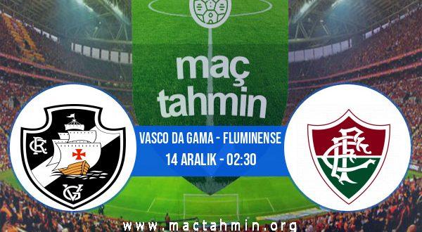Vasco Da Gama - Fluminense İddaa Analizi ve Tahmini 14 Aralık 2020