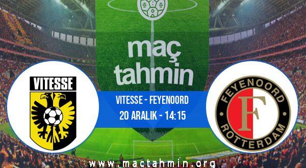 Vitesse - Feyenoord İddaa Analizi ve Tahmini 20 Aralık 2020