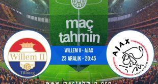 Willem II - Ajax İddaa Analizi ve Tahmini 23 Aralık 2020