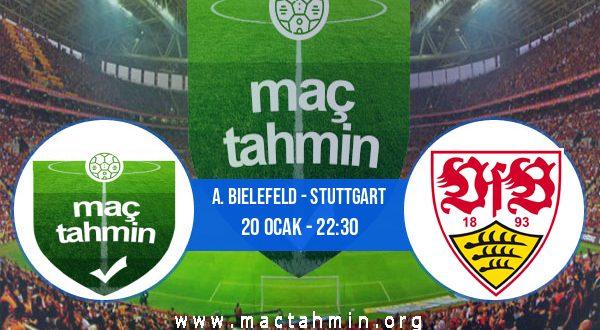 A. Bielefeld - Stuttgart İddaa Analizi ve Tahmini 20 Ocak 2021