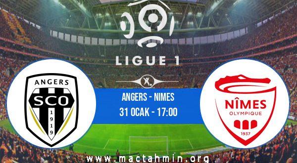 Angers - Nimes İddaa Analizi ve Tahmini 31 Ocak 2021