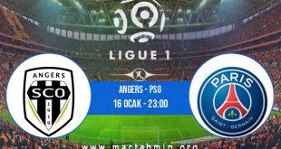 Angers - PSG İddaa Analizi ve Tahmini 16 Ocak 2021