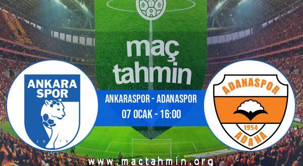 Ankaraspor - Adanaspor İddaa Analizi ve Tahmini 07 Ocak 2021