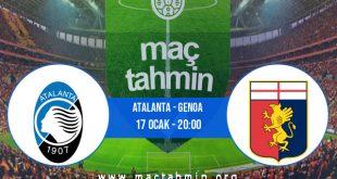 Atalanta - Genoa İddaa Analizi ve Tahmini 17 Ocak 2021