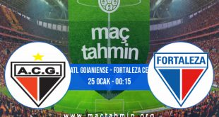 Atl Goianiense - Fortaleza CE İddaa Analizi ve Tahmini 25 Ocak 2021