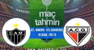 Atl. Mineiro - Atl Goianiense İddaa Analizi ve Tahmini 18 Ocak 2021
