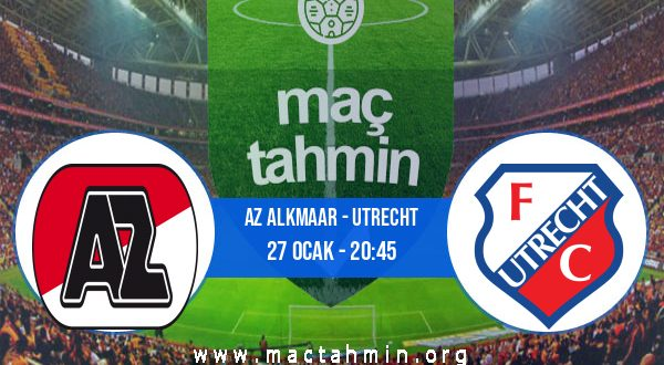AZ Alkmaar - Utrecht İddaa Analizi ve Tahmini 27 Ocak 2021