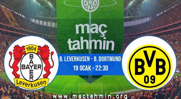 B. Leverkusen - B. Dortmund İddaa Analizi ve Tahmini 19 Ocak 2021