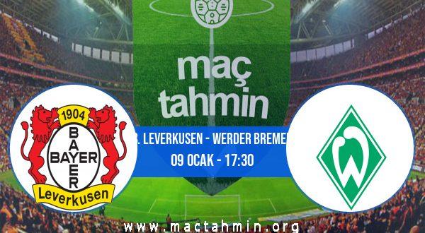 B. Leverkusen - Werder Bremen İddaa Analizi ve Tahmini 09 Ocak 2021
