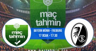 Bayern Münih - Freiburg İddaa Analizi ve Tahmini 17 Ocak 2021