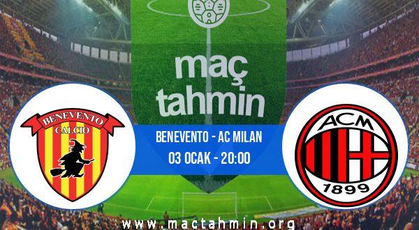 Benevento - AC Milan İddaa Analizi ve Tahmini 03 Ocak 2021