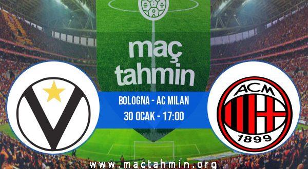 Bologna - AC Milan İddaa Analizi ve Tahmini 30 Ocak 2021