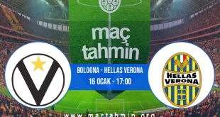 Bologna - Hellas Verona İddaa Analizi ve Tahmini 16 Ocak 2021