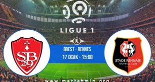 Brest - Rennes İddaa Analizi ve Tahmini 17 Ocak 2021