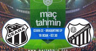 Ceara CE - Bragantino SP İddaa Analizi ve Tahmini 18 Ocak 2021