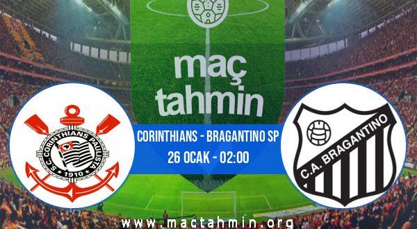 Corinthians - Bragantino SP İddaa Analizi ve Tahmini 26 Ocak 2021