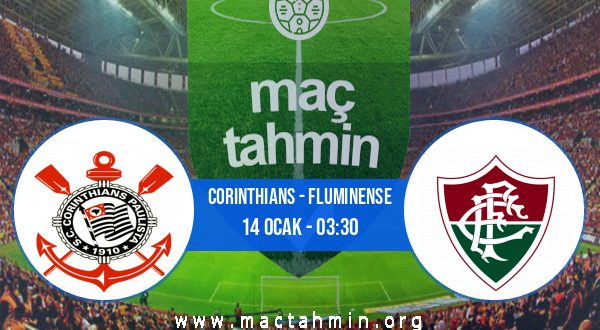 Corinthians - Fluminense İddaa Analizi ve Tahmini 14 Ocak 2021