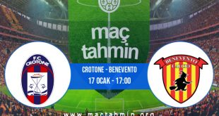 Crotone - Benevento İddaa Analizi ve Tahmini 17 Ocak 2021