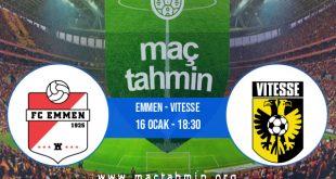 Emmen - Vitesse İddaa Analizi ve Tahmini 16 Ocak 2021