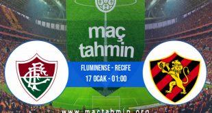 Fluminense - Recife İddaa Analizi ve Tahmini 17 Ocak 2021