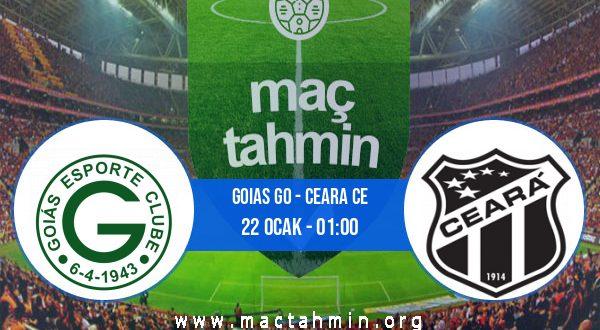 Goias GO - Ceara CE İddaa Analizi ve Tahmini 22 Ocak 2021