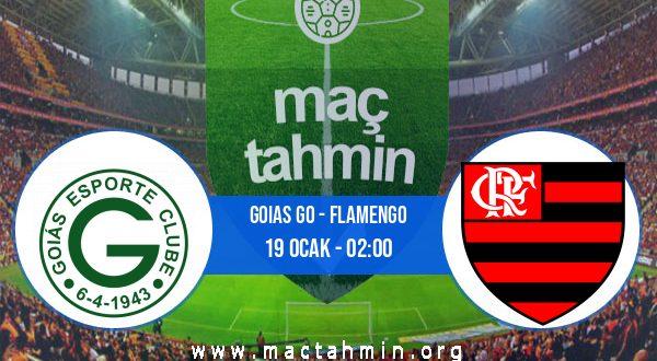 Goias GO - Flamengo İddaa Analizi ve Tahmini 19 Ocak 2021