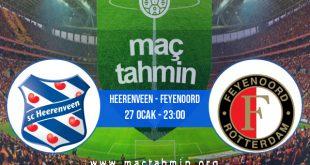 Heerenveen - Feyenoord İddaa Analizi ve Tahmini 27 Ocak 2021