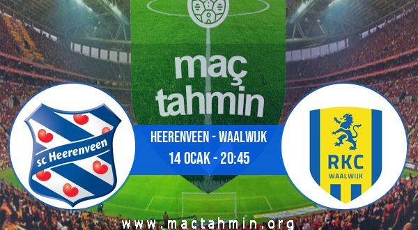 Heerenveen - Waalwijk İddaa Analizi ve Tahmini 14 Ocak 2021