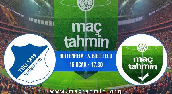 Hoffenheim - A. Bielefeld İddaa Analizi ve Tahmini 16 Ocak 2021