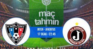 Inter - Juventus İddaa Analizi ve Tahmini 17 Ocak 2021