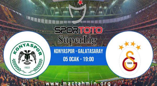 Konyaspor - Galatasaray İddaa Analizi ve Tahmini 05 Ocak 2021