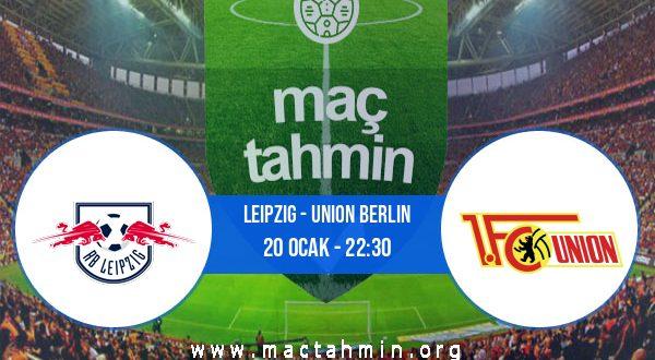 Leipzig - Union Berlin İddaa Analizi ve Tahmini 20 Ocak 2021