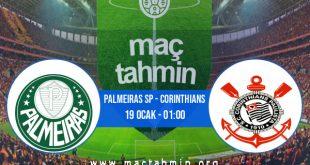 Palmeiras SP - Corinthians İddaa Analizi ve Tahmini 19 Ocak 2021