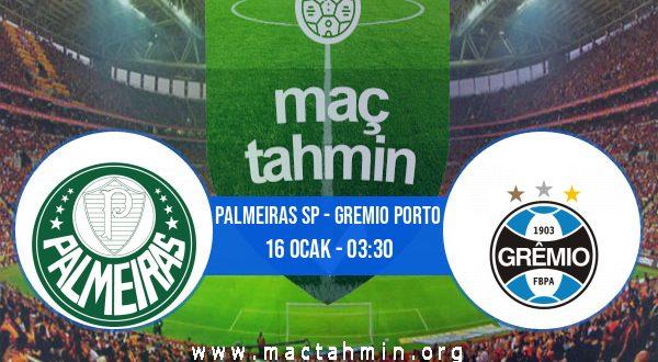 Palmeiras SP - Gremio Porto İddaa Analizi ve Tahmini 16 Ocak 2021