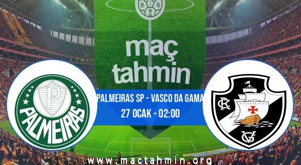 Palmeiras SP - Vasco Da Gama İddaa Analizi ve Tahmini 27 Ocak 2021