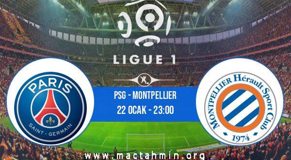 PSG - Montpellier İddaa Analizi ve Tahmini 22 Ocak 2021