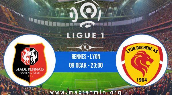Rennes - Lyon İddaa Analizi ve Tahmini 09 Ocak 2021
