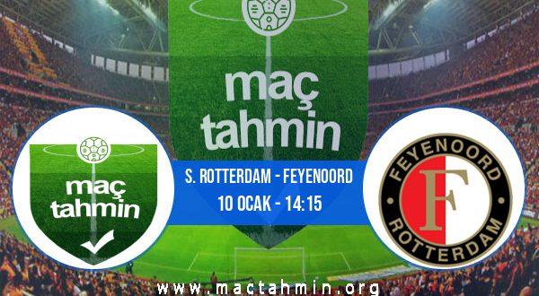 S. Rotterdam - Feyenoord İddaa Analizi ve Tahmini 10 Ocak 2021