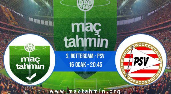 S. Rotterdam - PSV İddaa Analizi ve Tahmini 16 Ocak 2021