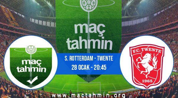 S. Rotterdam - Twente İddaa Analizi ve Tahmini 28 Ocak 2021