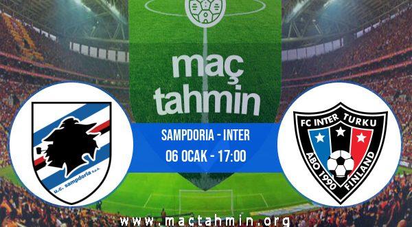 Sampdoria - Inter İddaa Analizi ve Tahmini 06 Ocak 2021
