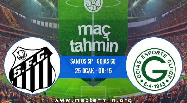 Santos SP - Goias GO İddaa Analizi ve Tahmini 25 Ocak 2021