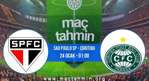 Sao Paulo SP - Coritiba İddaa Analizi ve Tahmini 24 Ocak 2021
