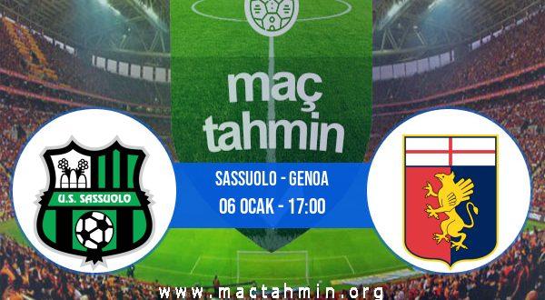 Sassuolo - Genoa İddaa Analizi ve Tahmini 06 Ocak 2021