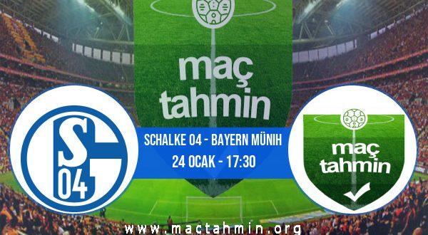 Schalke 04 - Bayern Münih İddaa Analizi ve Tahmini 24 Ocak 2021